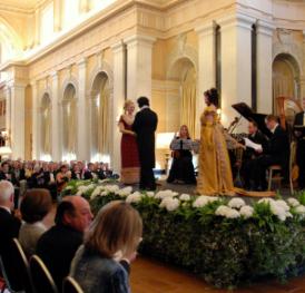London Festival Opera Churchill Memorial Lecture Concert Blenheim Palace