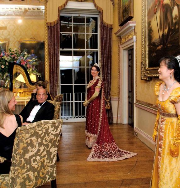 London Festival Opera Opera Soiree in Regency Costume Brocket Hall