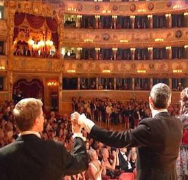 London Festival Opera Curtain Call at La Fenice in Venice