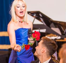 London Festival Opera Carmen Serenade for Charity Event in Bucharest