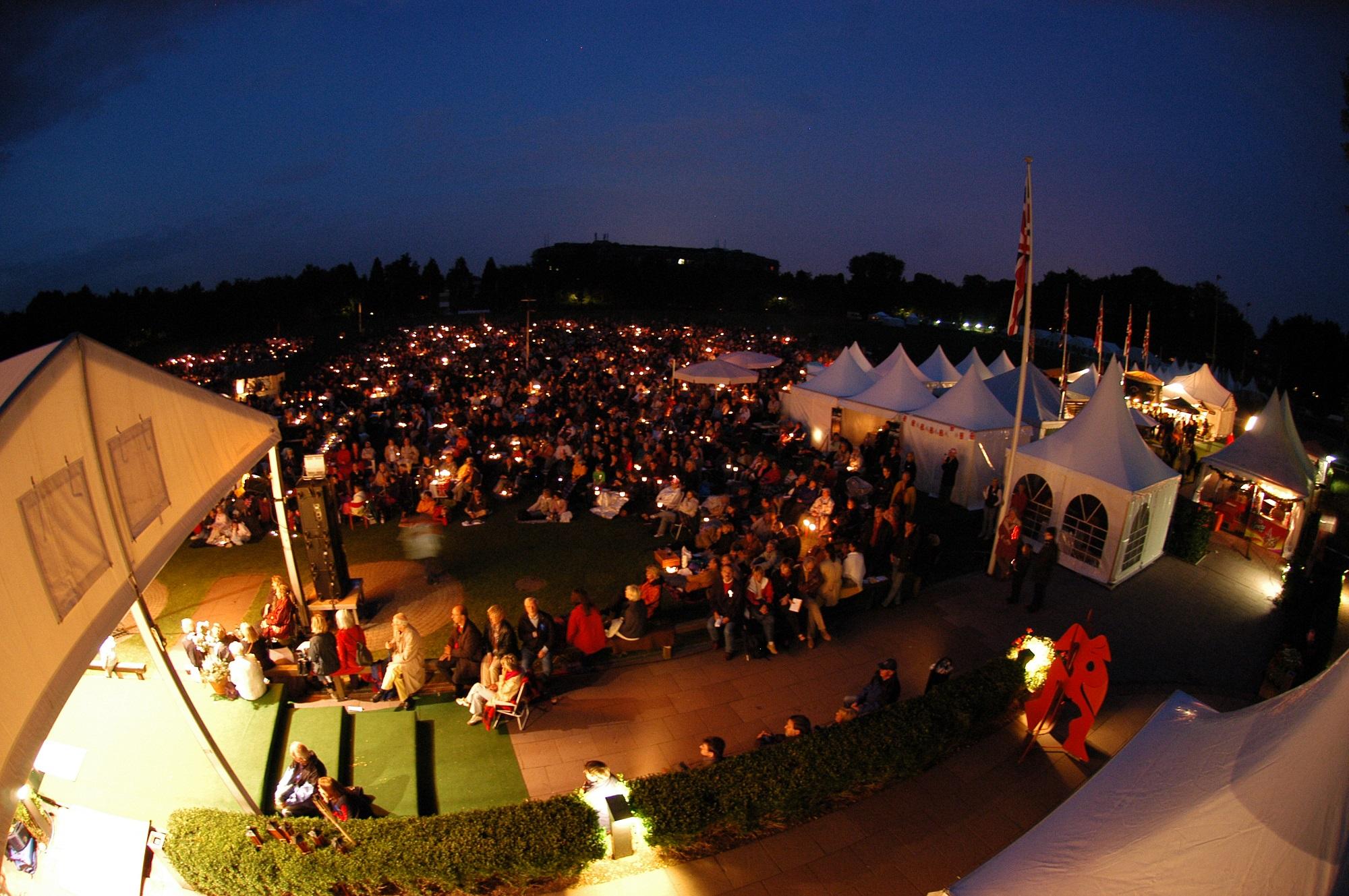 London Festival Opera Al Fresco Performance Hamburg Polo Ground
