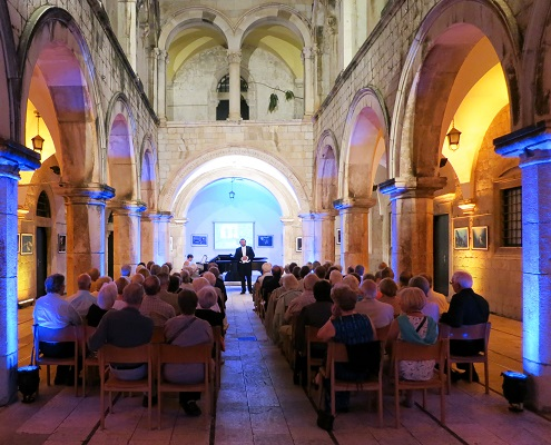 London Festival Opera Private Concert Sponza Palace, Dubrovnik