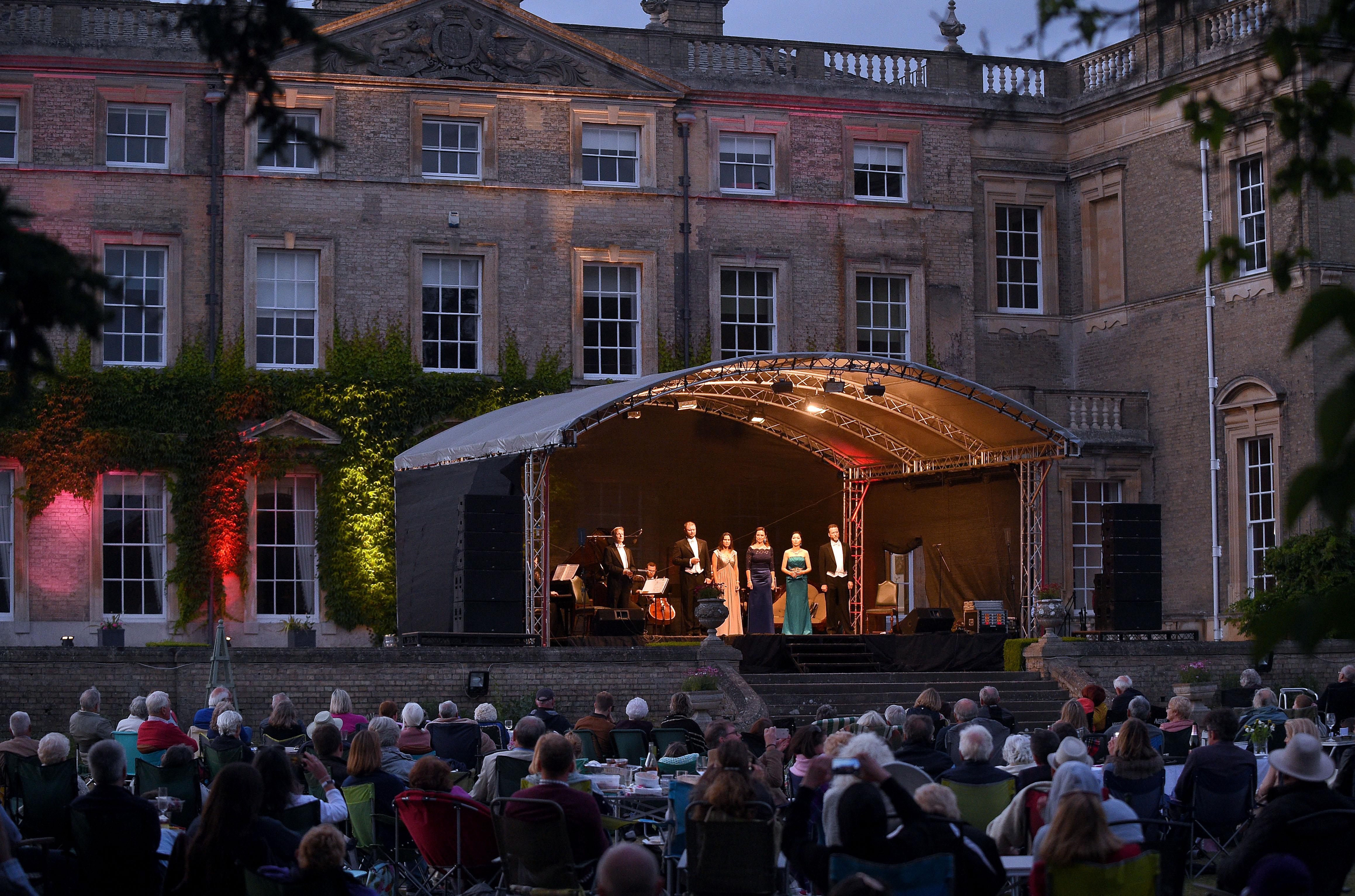 London Festival Opera in the Park Culford School
