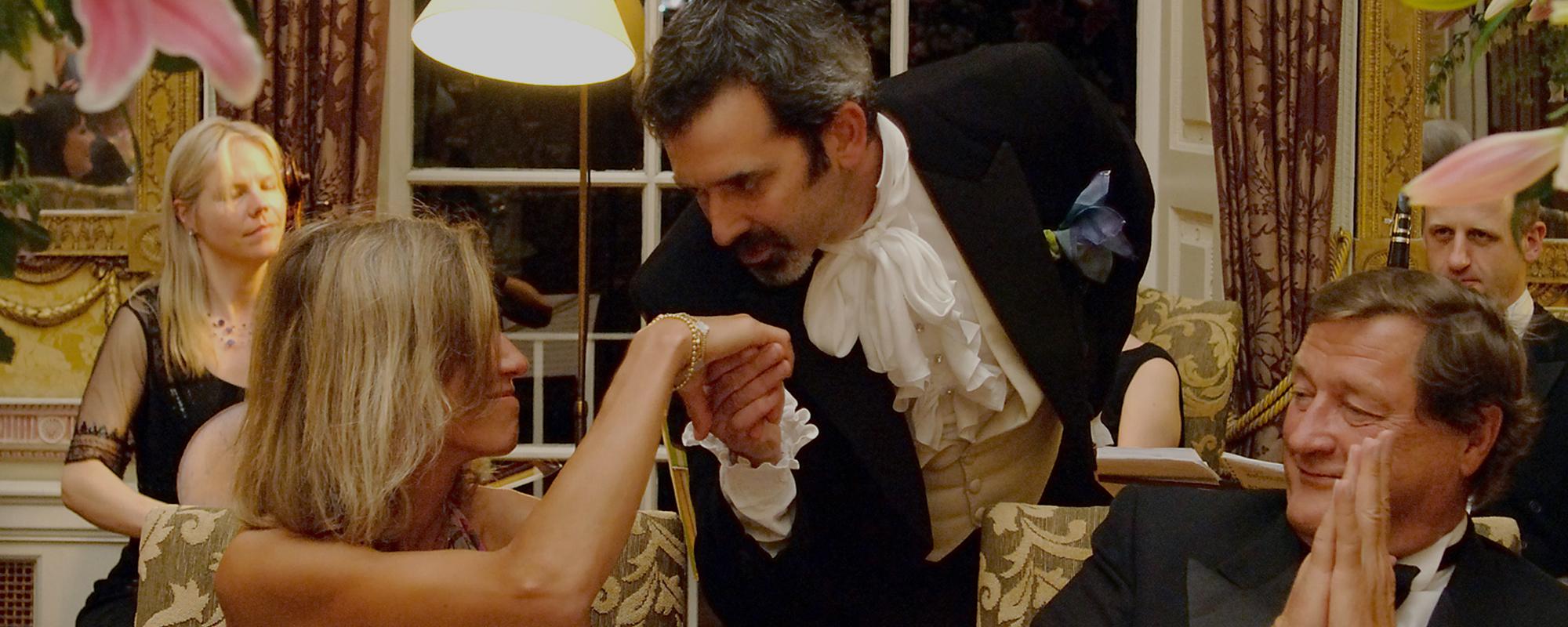London Festival Opera Singing Waiters