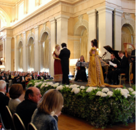 London Festival Opera Churchill Memorial Lecture Concert Blenheim Palace