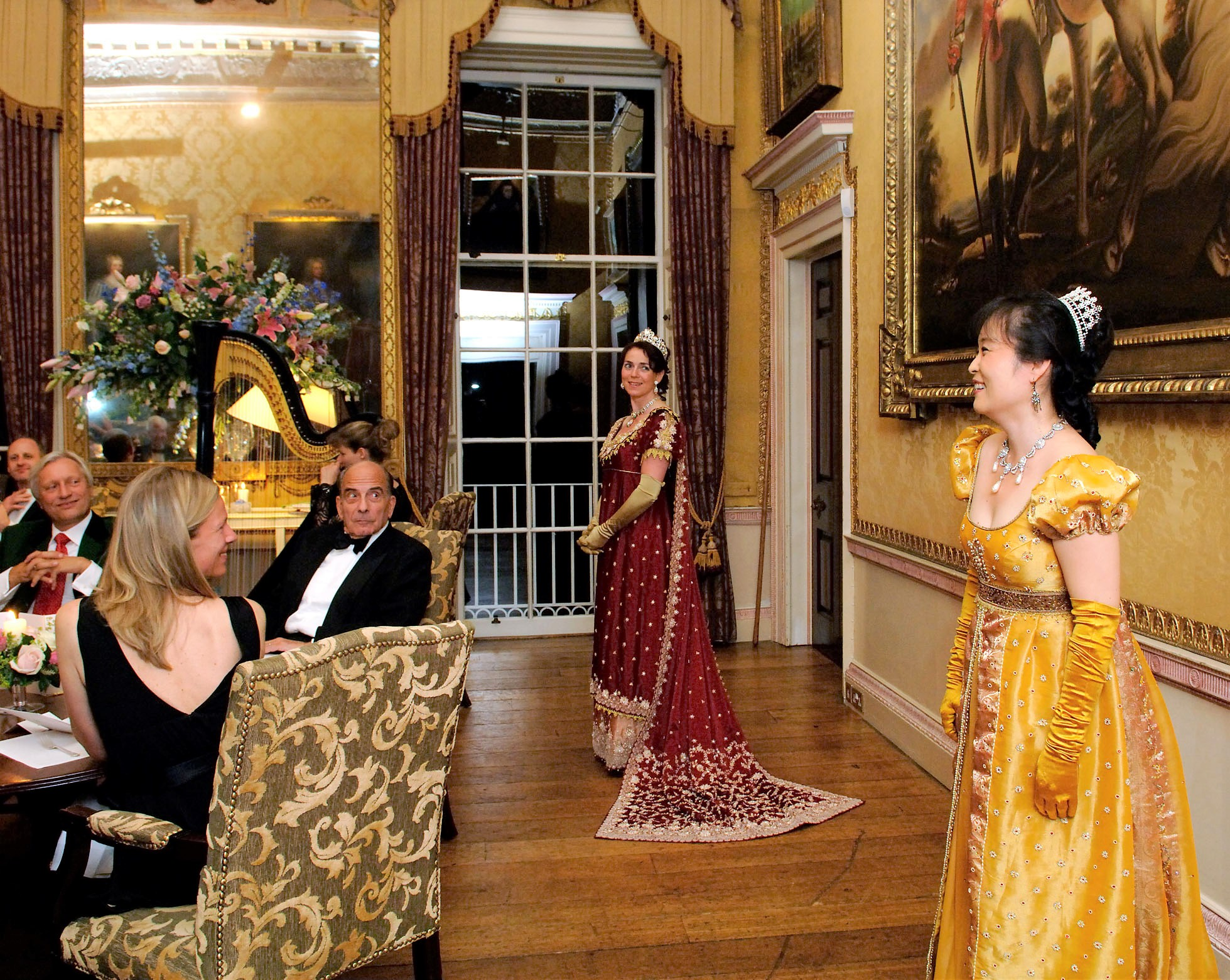 London Festival Opera Opera Soiree in Regency Costume Brocket Hall