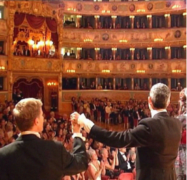 London Festival Opera Curtain Call at La Fenice in Venice