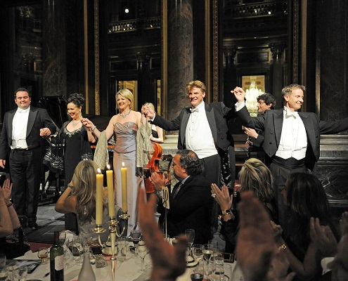 London Festival Opera Curtain Call Drapers' Hall for a Royal Charity Event