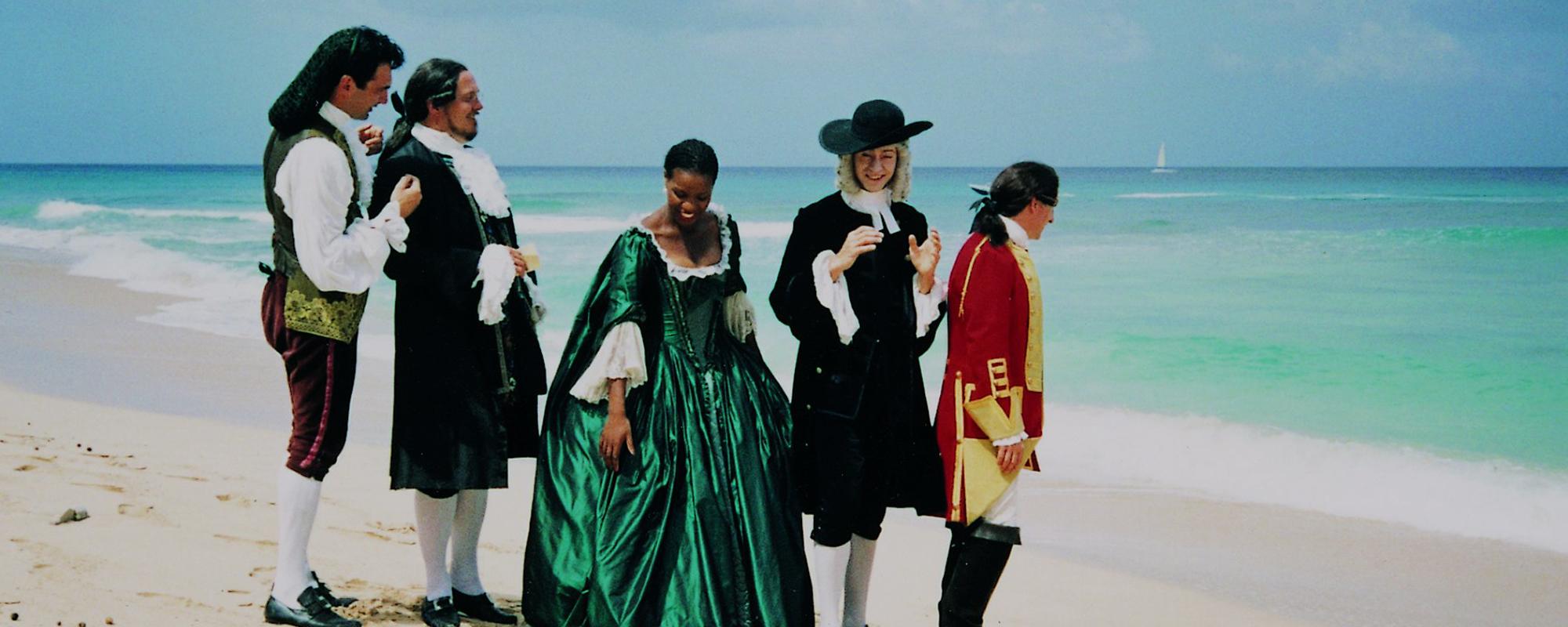 London Festival Opera singers in Barbados