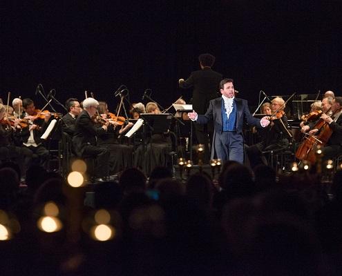 Opera gala with orchestra