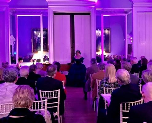 Soprano sings in Victorian Opera Gala at Kirtlington park