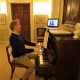 Philip teaching online
